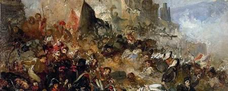 Ramón Marti i Alsina. h. 1865 Óleo sobre lienzo, 45,5 x 84 cm. Museu d'Art de Girona, Girona