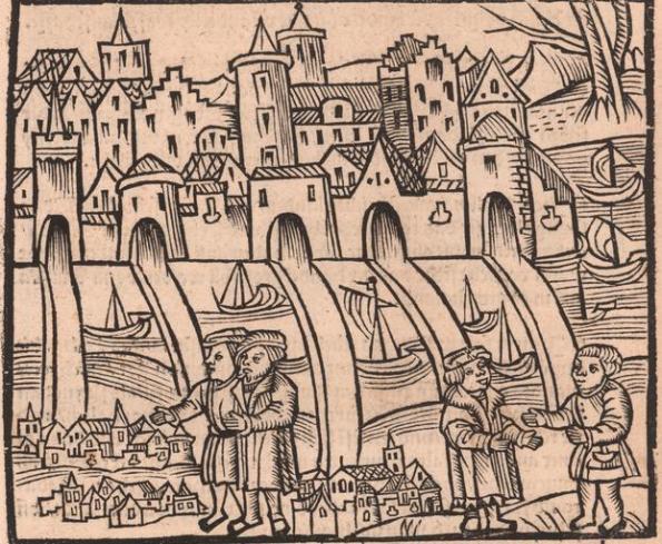 Periódico sobre el país que los españoles encontraron en 1521, llamado Yucatán (Augsburgo, 1522)