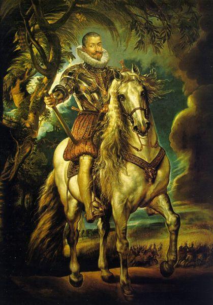 """""""más picaro que el Lazarillo de Tormes"""" El duque de Lerma por Pedro Pablo Rubens, 1603 (Museo del Prado)."""